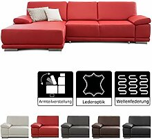CAVADORE Eckcouch Corianne / Sofa L-Form in