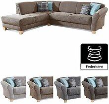 CAVADORE Ecksofa Gootlaand / Große Couch im