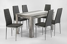 CAVADORE Ess-Tisch PEGASUS / Moderner
