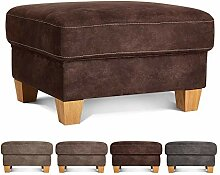 CAVADORE Hocker Byrum im Landhausstil / Landhaus
