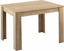 CAVADORE Tisch NICK / Moderner Esstisch 120 cm /