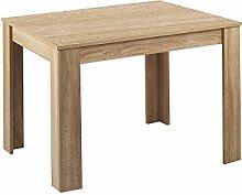 CAVADORE Tisch NICK / Moderner Esstisch 140 cm /