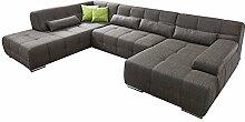 Cavadore Wohnlandschaft Boogies / Sofa U-Form mit