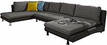 Cavadore Wohnlandschaft Loungines / XXL-Couch mit