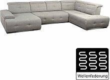 Cavadore Wohnlandschaft Mistrel/Großes Sofa mit