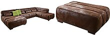 Cavadore Wohnlandschaft Scoutano, XXL-Couch in