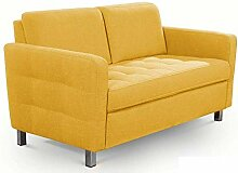 CAVADORE Zweisitzer-Sofa Paolo / Stilvolle