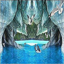 Cave Dolphins Seagull für Walls Murals Tapete