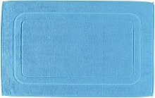 Cawö Badematte 201 - Größe: 50x80 cm - Farbe: malibu - 177