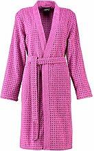 Cawö Damen Bademantel Sense Coloured Kimono kurz