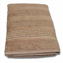 Cawö Duschtuch beige Größe 80x160 cm