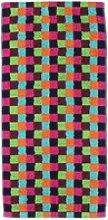 Cawö Handtuchserie Lifestyle Karo multicolor