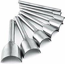 Caydo 8 Stück Leder Handwerk Werkzeuge