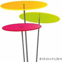 Cazador del Sol Medio | Tres | 3 Stück Sonnenfänger Bunt 1,20 Meter Hoch - Das Original