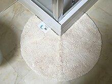 Cazsplash Duschvorleger mit runden Ecken,