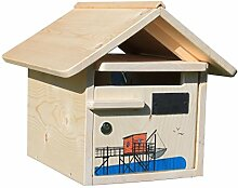 briefkasten holz g nstig online kaufen lionshome. Black Bedroom Furniture Sets. Home Design Ideas