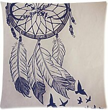 CBOutletArt Dream Catcher Keep Your Dream Alive Cotton Linen Decorative Throw Pillow Case Cushion Cover 18*18 Inch a:94
