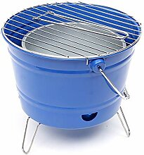 CBWZDJZDS Eimer Grill Outdoor Holzkohlegrill Grill
