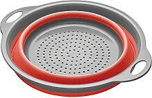 CC*CD Faltbares Abtropfsieb für die Küche,
