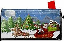 CC Decoration Mailbox Wrap,Weihnachtsbäume