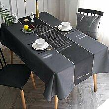 CCBAO Couchtisch Tischdecke Aus Baumwolle Und
