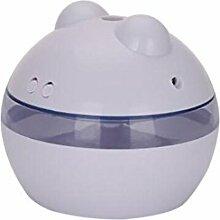 CCCREM Ball Befeuchter Dual Button LED Nachtlicht USB Ultraschall Diffusor Stumm Yoga Büro SPA Schlafzimmer Baby Room