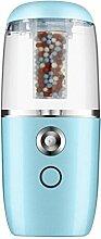 CCCREM Luftbefeuchter 40 ml Mini Auto Negative Ion Spray Schönheit Instrument Usb-lade Ultraschall-reinigung Filter Luft , blue