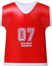 CCCREM Neue Mini USB Luftbefeuchter 100ml Fußball Kleidung Modellierung Spray Kreative Geschenk Schule Schlafzimmer , red