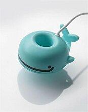 CCCREM Whale Luftbefeuchter Tragbare Kreative Mini Nette Sprayer usb Aromatherapie diffusor für zuhause reise büro geschenk party , blue