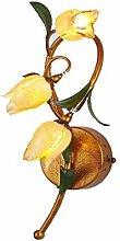 CCF American Floral Persönlichkeit Wandlampe,