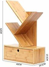 CCF Bambus Regal - Desktop Schreibtisch