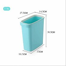 CCF Mülleimer 7.5L Kunststoff Umweltfreundlich