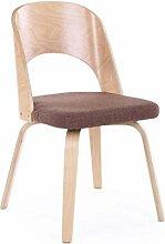CCF Nordic Stuhl aus massivem Holz mit hoher