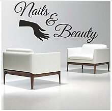 Ccfqiangtie Nail Salon   Wandtattoo Nails &