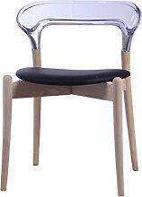 CCJW Massivholz Stuhl modernen minimalistischen