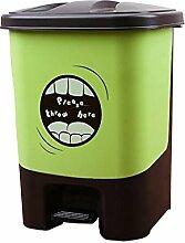 CCJW Pedal-Art Mülleimer zu Hause Wohnzimmer