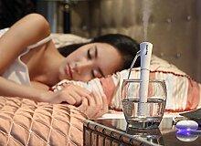 ccloon Tragbarer Mini Ultraschall Dampf Luftbefeuchter, Face Beauty Spray Wasser Wizard Tragbare Mini Ultraschall-Luftbefeuchter Gerät für Ihre Schönheit für Zuhause/Büro/Auto