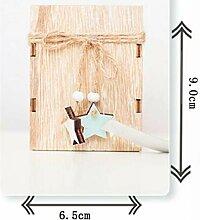 CCMOO Weihnachten Dekorative Laternen Holz
