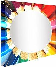 Ccretroiluminados Flanellhemden Retro-Farben