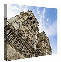 CCRETROILUMINADOS Notre Dame Paris Gemälde,