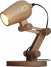 CCSUN Kreativ Holz Tischleuchte,Modern Einfachen