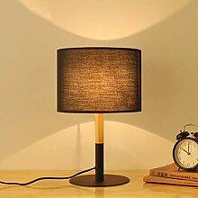 CCSUN Massivholztisch lampe,Klassische