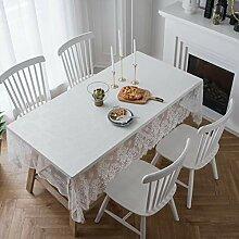 CCSUN Rechteck Lace Tablecloth, Wiederverwendbarer