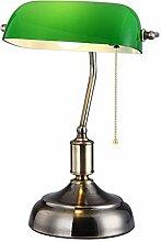CCSUN Traditionellen Banker lampe Bett Tischlampe,