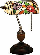 CCSUN Vintage Traditionellen Banker lampe,