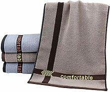 CCSYM Handtuch-Set, 4Er Baumwolltuch, Weiches,