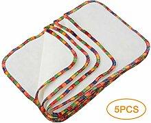 CCSYM Handtuch Set, 5 Teile/Satz Baby Waschlappen
