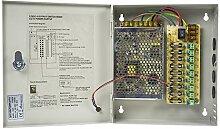 CCTV-Netzteil PNI STC5A in Metallbox 12V-5A 9