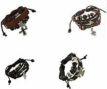 ccxx Frauen 4pcs Armband Damen Perlen Mädchen