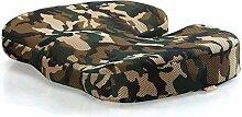 CCYYJJ Camouflage Mesh Kissen Für Stuhl,